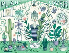 Plant Lover - Jessica HJ. Lee