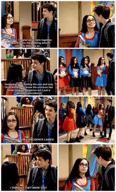 "#GirlMeetsWorld 3x01 ""Girl Meets High School: Part One"" - Smackle and Farkle"