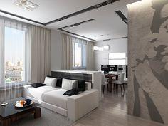 интерьер гостинной в стиле минимализм - Поиск в Google