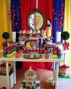 Disney Princess Snow White Girl 4th Birthday Party Planning Ideas