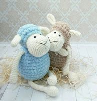 This is an Amigurumi Sheep Toy Free Crochet Pattern. These sweet amigurumi sheep are created in the blink of an eye! The amigurumi pattern is super easy and fun to make. Perfect gift for children. Crochet Sheep, Easter Crochet, Cute Crochet, Crochet Animals, Crochet Crafts, Crochet Projects, Crochet Motifs, Crochet Toys Patterns, Amigurumi Patterns