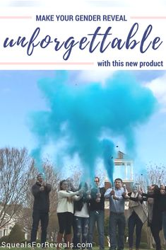 Shop SquealsForReveals.com for the most unforgettable gender reveal with gender reveal powder cannons! #GenderReveal #PowderCannon #GenderRevealCannon #SquealsForReveals #UniqueGenderReveal #CreativeGenderReveal #FallGenderReveal Sibling Gender Reveal, Fall Gender Reveal, Gender Reveal Balloons, Balloon Box, Epic Pictures, Blue Clouds, Cannon, How To Plan, Powder