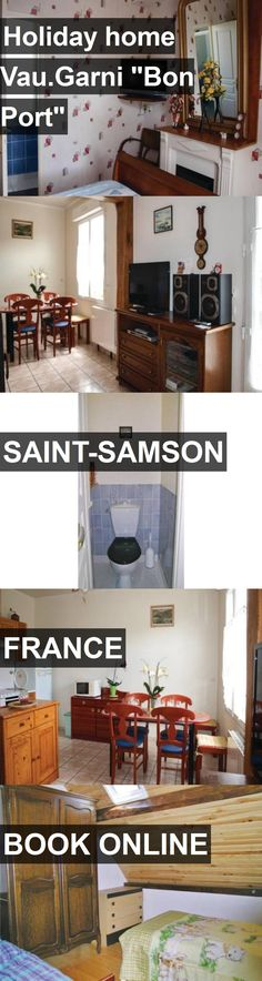 """Hotel Holiday home Vau.Garni """"Bon Port"""" in Saint-Samson, France. For more information, photos, reviews and best prices please follow the link. #France #Saint-Samson #HolidayhomeVau.Garni""""BonPort"""" #hotel #travel #vacation"""