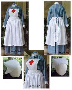 WWI nurse uniform