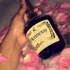 My stress reliever Alcoholic Drinks, Beverages, Bad Girl Aesthetic, Pink Aesthetic, Bad And Boujee, Vodka Bottle, At Least, Drinking, Food And Drink