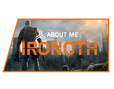 For the release of Tom Clancy's The Division, I created a set of twitch panel's in antisepation of IronOth streaming the game. https://www.twitch.tv/ironoth/profile