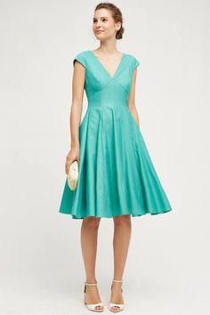 Paimpont Silk Dress