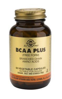 BCAA Plus Cápsulas vegetales