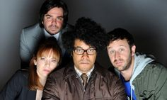 Matt Berry, Katherine Parkinson, Richard Ayoade, Chris O'Dowd from the TV show The IT Crowd