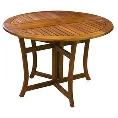 Outdoor Int-Qui Nhou 10020 Eucalyptus Table