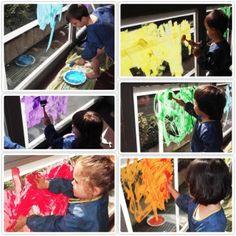 OUTDOOR PAINTING http://doremibaby.it/outdoor-painting/Per?utm_campaign=coschedule&utm_source=pinterest&utm_medium=Doremi%20(ACTIVITIES)&utm_content=OUTDOOR%20PAINTING la gioia dei dipendenti dell'azienda farmaceutica Boehringer Ingelheim i bambini del nido danno un tocco di colore al patio che si affaccia sul bellissimo giardino aziendale. Un'opera d'arte per la comunità.