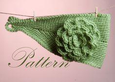 Very+Easy+Crochet+Headbands   EASY CROCHET HEADBAND   Crochet For Beginners