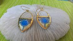 The earrings are made with brass ,silver 925 gold plated hooks,handmade painted and warnished waterproof .Unique and antique design Unique Necklaces, Unique Earrings, Earrings Handmade, Drop Earrings, Brass Necklace, Antiques, Silver, Gold, Etsy