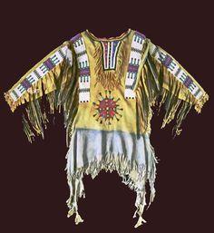 Soux War Shirt   Chief Blackbird War shirt