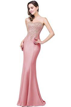 Babyonlinedress Sexy Elegant Robe de soirée Bal Cérémonie Forme Fourreau  Longue au sol sans 4a221293747
