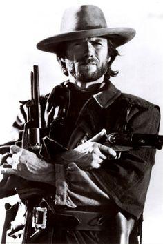 Actor Clinton Eastwood, Jr.  Born 31 May 1930, San Francisco, California