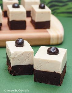 Layers of chocolate and coffee fudge makes this cappuccino fudge a must treat for the holidays.