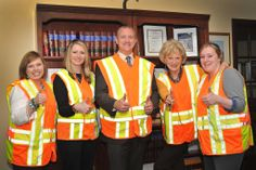 ACEC employees in Topeka participate in Go Orange in Kansas.