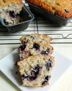 Blueberry Banana Bread. I have been reading many diff recipies for this and this one seems the easiest w/ the best ingredients. - JOY