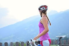Sommerliches Rad-Outfit / Fitness Fashion