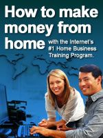 How To Make Money From Home With The Internet's #1 Home Business Training Program. Click The Image For More Info.
