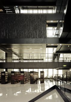 Utrecht Library | Wiel Arets Architects | Photo © Jan Bitter & Andrea Giannotti