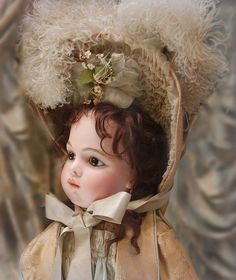 Exquisite Antique French Doll