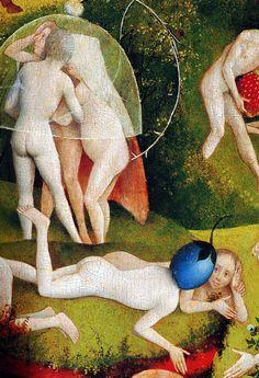 Hieronymus-Jérôme Bosch - Primitif Flamand - Le Jardin des Délices, detail.