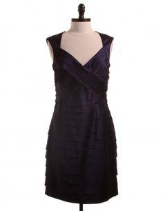 NWT Purple Cocktail Sheath Dress by Jones New York - Size 12 - $38.95 on LikeTwice.com