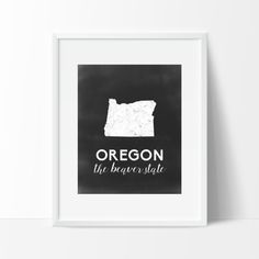 Oregon Printable by SamanthaLeigh on Etsy