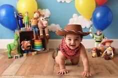Woody Birthday, First Birthday Party Themes, First Birthday Pictures, Toy Story Birthday, Boy First Birthday, Boy Birthday Parties, Birthday Ideas, Cumple Toy Story, Festa Toy Story