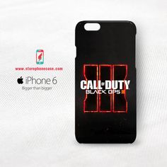 Call of Duty Black Ops 3 Logo iPhone 6 6S Cover Case
