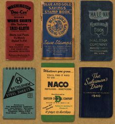 Vintage American Memo Graphics – Field Notes X Aaron Draplin