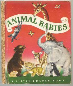 Animal Babies-Little Golden Book