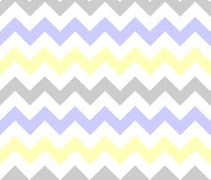 love this combination...Yellow/periwinkle/gray