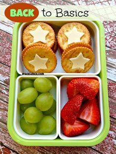 A Healthy But Cute Bento - lunch can be simple and fun!!