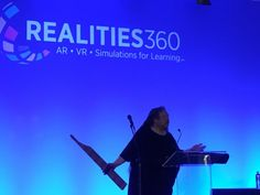 Selected observations from Jaron Lanier on VR, avatars, VR education, and assorted topics from his keynote at Realities With VR we need to support both audience groups. Augmented Reality, Virtual Reality, Keynote, Vr, Avatar, Education, Learning, Studying, Teaching