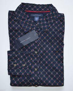 NWT Women's Tommy Hilfiger Long-Sleeve Business Casual Shirt, Black XXL, 2XL #TommyHilfiger #ButtonDownShirt #Casual