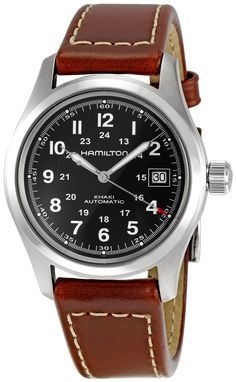 Hamilton Khaki Field Black Dial