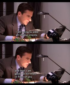 The office. Oh Michael Scott. Office Quotes, Office Memes, Parks N Rec, Parks And Recreation, Best Tv Shows, Favorite Tv Shows, Michael Scott Paper Company, Office Boards, The Office Show