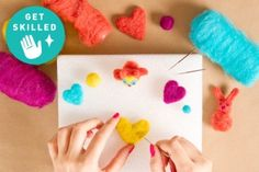 Get Skilled: Start Felting with Great Techniques + Inspiration!