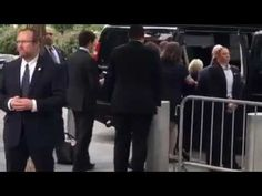 Mysterious piece of metal flings out of Hillary's pant leg while she is being dragged into her van passed out - RADICAL Rational Americans Defending Individual Choice And Liberty