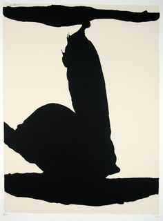 [Untitled]  Robert Motherwell,  Serigraph/color                              …                                                                                                                                                                                 Mais