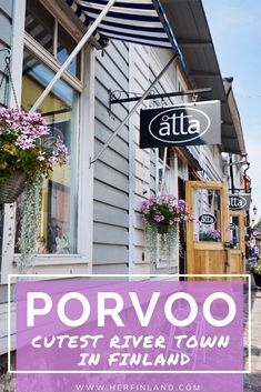 Porvoo lies less than an hour away from Helsinki and is the most adorable day trip destination of southern Finland. Discover all my locals' tips about this pastel-colored wooden old town! Finland Destinations, Amazing Destinations, Travel Destinations, Travel Tips, Travel Europe, Travel Ideas, Helsinki Things To Do, Visit Helsinki, Finland Travel