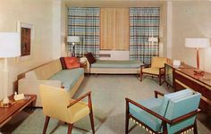 Early 1960s living space.