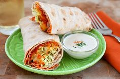 Recipe: Spicy Lentil Wraps with Tahini Sauce — Recipes from The ...