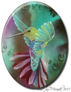'Mir'acle Art Inspirations: Fly Hummingbird just fly........