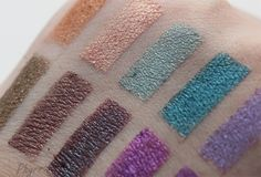 Phyrra Beauty for the Bold BEST Single Wash Eyeshadows Urban Decay and Colour Pop Eyeshadow Swatches