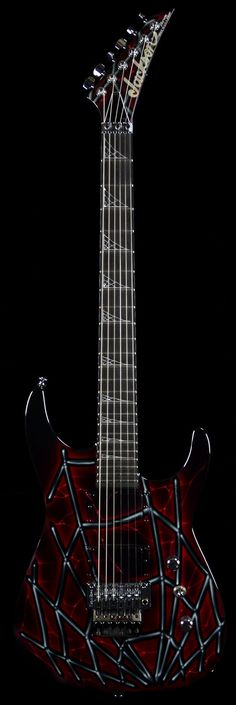 Wild West Guitars : Jackson Custom Shop Spider Bike Soloist