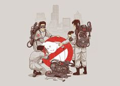 Design available at @Threadless #Ghostbusters